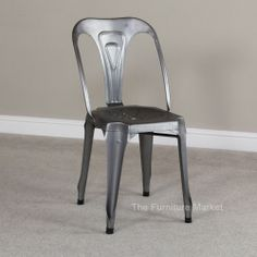 Industrial Bistro Dining Chair