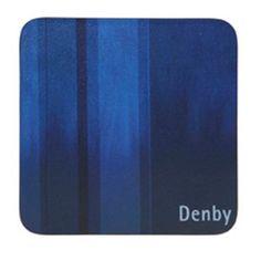 Denby Set of four blue coasters- at Debenhams.com