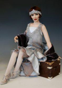 #history dolls  Greere by Diane Keeler. 35 19 5...47.19.5 qw2