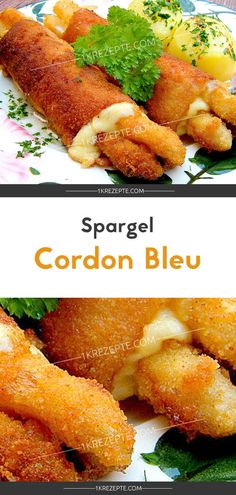 Spargel 'Cordon Bleu' - New Site Peanut Brittle Recipe, How To Cook Beef, Cordon Bleu, Daily Meals, Finger Foods, Food Inspiration, Dinner Recipes, Easy Recipes, Brunch