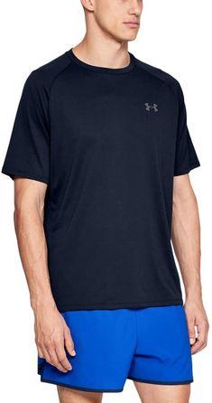 Amazon.com: Under Armour Men's Tech 2.0 Short-Sleeve T-Shirt , Academy Blue (408)/Graphite , Small: Clothing Under Armour Store, Under Armour T Shirts, Under Armour Men, Summer Outfits Men, Sport Outfits, Sports Shirts, Tee Shirts, Sun Shirt, Shirt Price
