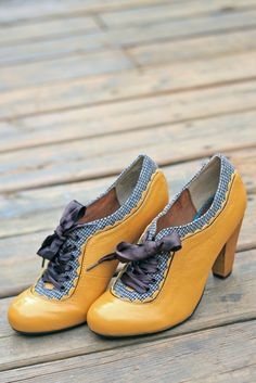 mustard yellow oxfords.......I must have these...they would not match with any thing i own but nevertheless i must have them.