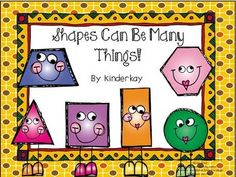 Shapes Can Be Many Things Make a Book