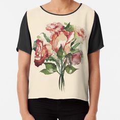 """Rosenstrauß"" von Mojart   Redbubble Mens Tops, Shopping, Fashion, Sleeveless Tops, Laptop Tote, Cinch Bag, Mini Skirts, Clothing, Moda"