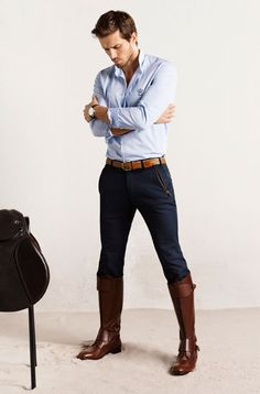 Aspirational, really--The Equestrian Collection: Massimo Dutti se lanza al mundo de la moda subido a caballo ) -Those boots are everything!!!
