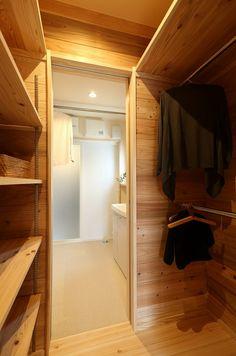 写真09|O様邸/ラフィネ/OM/大屋根(H26.4.5更新) Japanese Interior, My Room, Storage Organization, Closets, Bathroom, Architecture, House, Furniture, Ideas