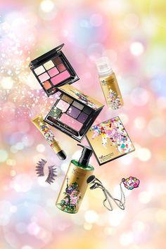 Shu Uemura & Takashi Murakami Make-Up Collaboration 2013 (Vogue.com UK)