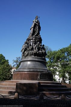 st. petersburg statues - Google Search  Catherine the Great