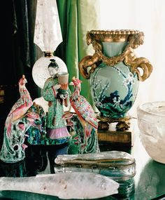 Pink and Green Chinoiserie (Chinoiserie Chic) Asian Interior Design, Chinese Interior, Asian Design, Home Interior, Interior Styling, Chinoiserie Wallpaper, Chinoiserie Chic, Asian Home Decor, Diy Home Decor