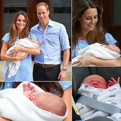 HRH Prince George of Cambridge, with his parents!