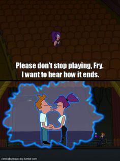 A romantic cartoon