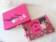 Livro de assinaturas - 15 anos - pink e preto kecaatelie@gmail.com
