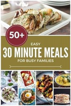 30 minute family meal idea family meals meal ideas and meals 58 easy 30 minute meals for busy families sisterspd