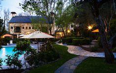 Beautiful Pool at twilight