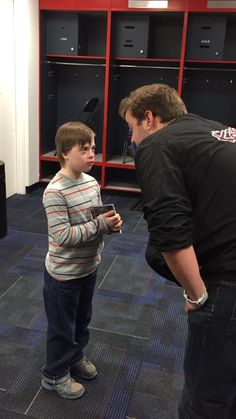 This is The Kane Show's intern John giving Christopher a pep talk before he meets his favorite band of all time.