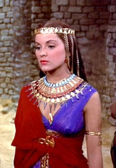 Debra paget the Ten Commandments