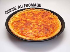 Quiche au fromage - from Lunchblocks Swiss Cheese, Vegetarian Cheese, Macaroni And Cheese, Brunch, Dinner, Breakfast, Ethnic Recipes, Food, Cheese Quiche