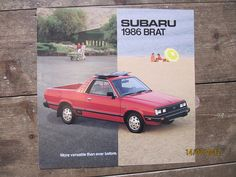 American Subaru BRAT brochure from 1986 page 1 | by Sholing Uteman