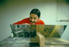 Ana mendieta - Implante de vello facial