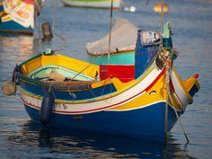 Fishing boat, Malta  http://canalrivertrust.org.uk/