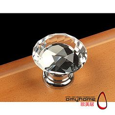 Clear-Crystal-Glass-Drawer-Cabinet-Knob-30mm