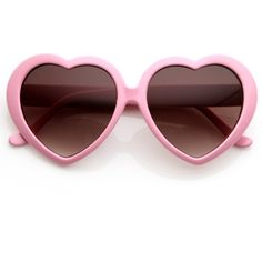 Cute Womens Lolita Sweet Heart Shape Sunglasses (€8,36) ❤ liked on Polyvore featuring accessories, eyewear, sunglasses, heart shaped glasses, heart sunglasses, heart shaped sunglasses and heart glasses