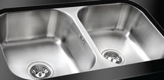Danube Classic Radius Undermount  Double Bowl Sink Kitchen Sink Taps, Double Bowl Sink, Undermount Sink, Classic, Derby, Classical Music