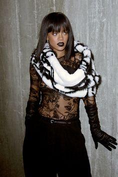 Avant-garde look from Rihanna