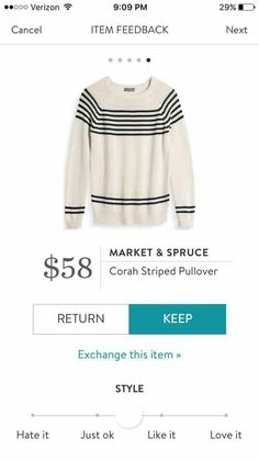 I finally gave Stitch Fix a try and love it! Please use my referral code 3bbfa4a01