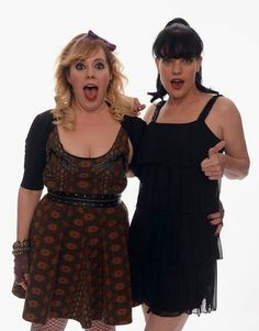 NCIS Abby & Criminal Minds Garcia best two science nerds in crime scene history