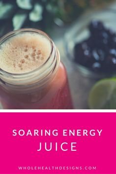 Soaring Energy Juice - Pineapple is a super fat burner AND fights against free radicals (makes your skin look younger). Cherries, well, they are just divine for weight loss, de-bloating and better sleep. And lime is for fun plus a big vitamin C boost. Energy Juice Recipes, Easy Juice Recipes, Diet Recipes, Vegan Recipes, Delicious Recipes, Kale Juice, Juice Diet, Juice Cleanse, Recipes Using Fruit