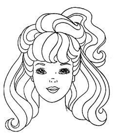 hairdo barbie friends coloring pages | kids coloring pages ... - Barbie Friends Coloring Pages