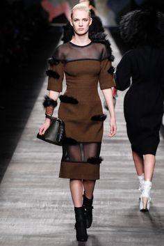 Fendi Fall 2014 Ready-to-Wear Fashion Show - Ashleigh Good