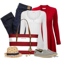 A fashion look from April 2014 featuring White Stuff t-shirts, EAST cardigans and American Eagle Outfitters jeans. Browse and shop related looks. Summer Outfits, Casual Outfits, Cute Outfits, Fashion Outfits, Womens Fashion, New Wardrobe, Summer Wardrobe, Nautical Fashion, Nautical Clothing