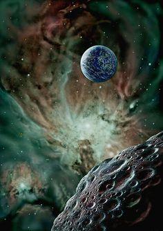 David A. Hardy - AstroArt.org | Extrasolar