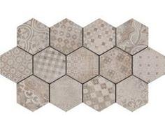 Ragno Rewind Decore Cementine 21x18,2 Płytka gresowa dekoracyjna