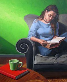 Women Reading - thomerama: Kenney Mencher