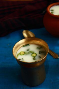 sambaram, kerala style spiced buttermilk, moru vellam is a tasty, healthy, refreshing summer drink. It is made with buttermilk How To Make Buttermilk, Food Photography Styling, Food Styling, Refreshing Summer Drinks, Kerala Food, Indian Food Recipes, Ethnic Recipes, Asian Desserts, Indian Dishes