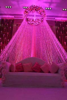 India's Best Wedding Planning Site - Online Wedding Planner - Indian Wedding Website : Wed Me Good Desi Wedding Decor, Wedding Stage Design, Wedding Hall Decorations, Wedding Reception Backdrop, Marriage Decoration, Wedding Mandap, Backdrop Decorations, Decoration Table, Backdrops