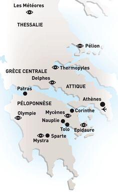 Circuit Athéna à Zeus -Grèce Continentale Athènes,formule Circuits avec Héliades