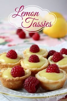 Yesterfood : Lemon Tassies