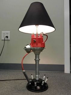 Man Cave Light Distributor Lamp, combined this with the air filter lampshade and your set.