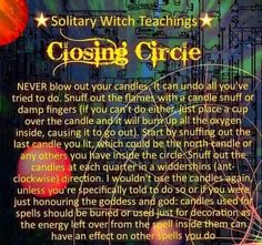 Magick Spells, Wicca Witchcraft, Pagan Witch, Closing Circle, Wiccan Spell Book, The Good Witch, Season Of The Witch, Kitchen Witch, Book Of Shadows
