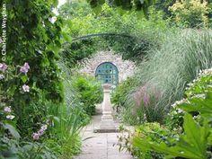 inside secret walled gardens - Google Search