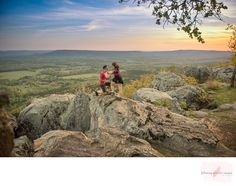 Following Splendor Images Petit Jean Surprise Proposal