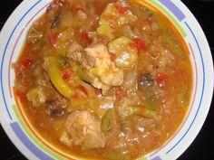 Bucataria cu noroc - Mancare de vinete, dovlecei si fasole verde Noroc, Slow Cooker, Curry, Ethnic Recipes, Green, Food Dinners, Curries, Crockpot, Crock Pot