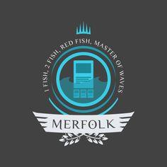 Merfolk shirt design for magic the gathering #mtg #shirt #design #humor #funny #witty #threadless #magicthegathering #epicupgrades #magic #merfolk