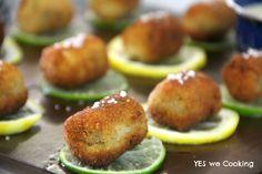 Croquetes de pupunha com molho de limão – Brasileiríssimo!!! | YES we Cook