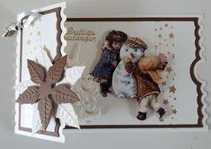 Christmas Tag, Christmas Ornaments, Marianne Design, Studio Lighting, Ticket, Holiday Decor, Handmade, Vintage, Woman