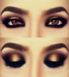 brown eyeshadow... beautiful. Maybe something to try out?
